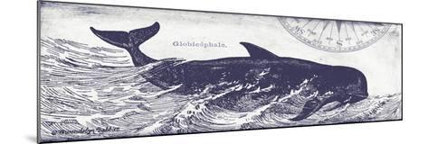 Whale on Cream I-Gwendolyn Babbitt-Mounted Art Print
