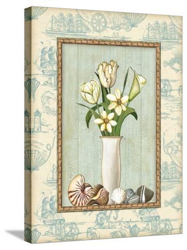 Beach Memories II-Charlene Audrey-Stretched Canvas Print