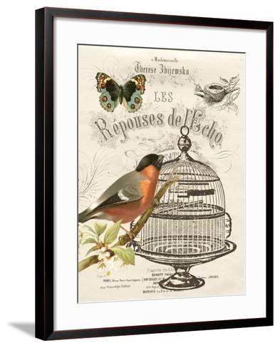 Music Bird I-Gwendolyn Babbitt-Framed Art Print