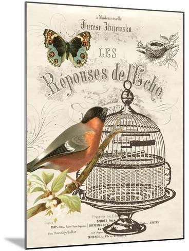 Music Bird I-Gwendolyn Babbitt-Mounted Art Print