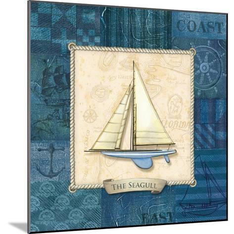 Sailing IV-Charlene Audrey-Mounted Art Print