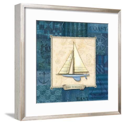 Sailing IV-Charlene Audrey-Framed Art Print