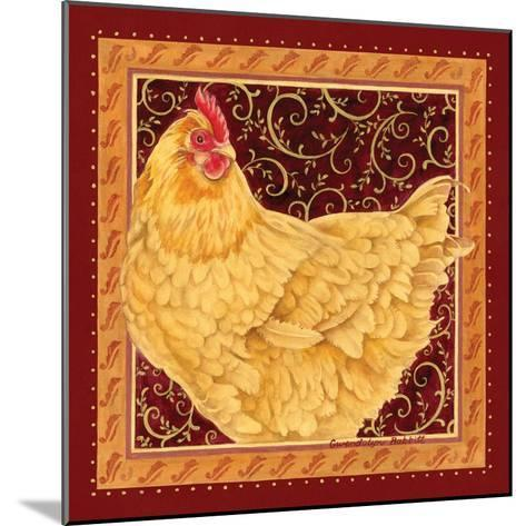 Country Hen I-Gwendolyn Babbitt-Mounted Art Print