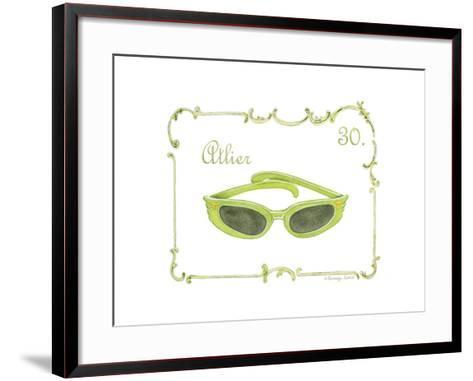 French Fashion IV-Gwendolyn Babbitt-Framed Art Print