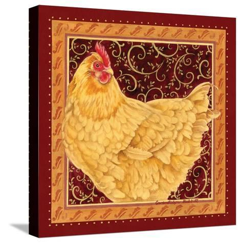 Country Hen I-Gwendolyn Babbitt-Stretched Canvas Print