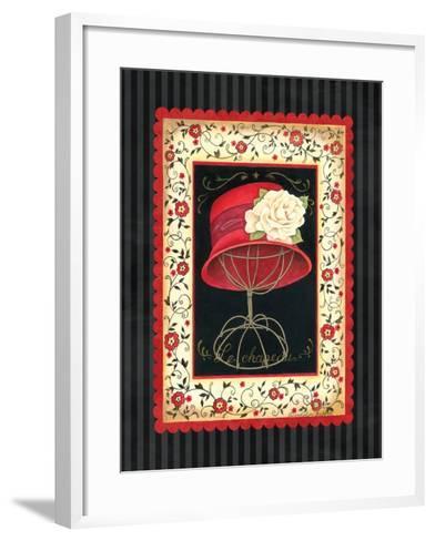Dressed in Red I-Gwendolyn Babbitt-Framed Art Print
