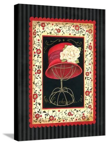Dressed in Red I-Gwendolyn Babbitt-Stretched Canvas Print