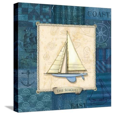 Sailing IV-Charlene Audrey-Stretched Canvas Print
