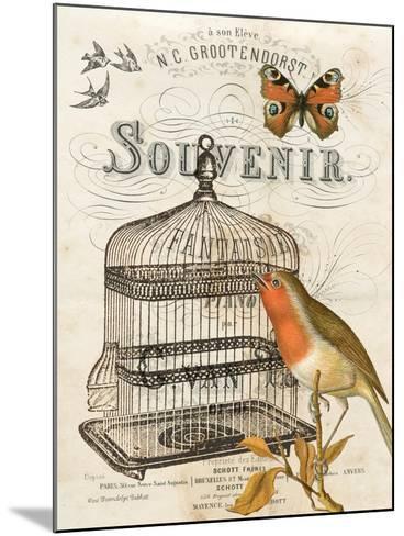 Music Bird II-Gwendolyn Babbitt-Mounted Art Print