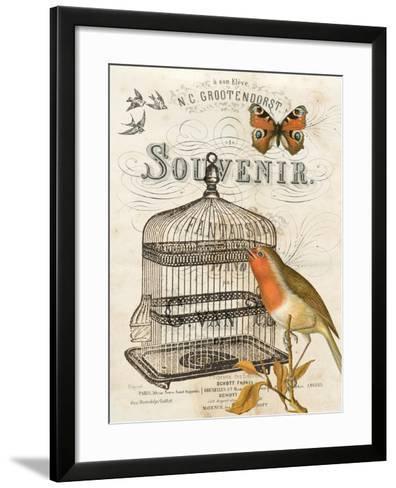 Music Bird II-Gwendolyn Babbitt-Framed Art Print