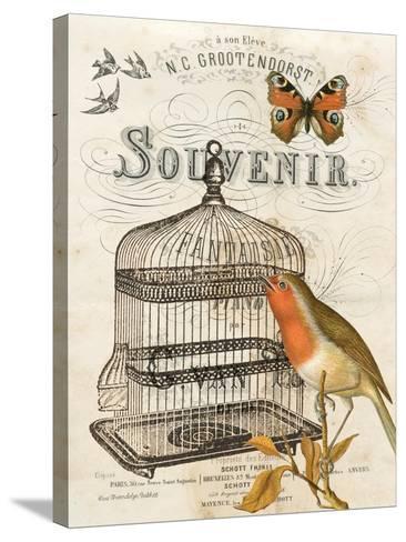 Music Bird II-Gwendolyn Babbitt-Stretched Canvas Print