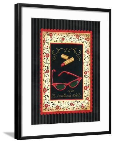 Dressed in Red IV-Gwendolyn Babbitt-Framed Art Print