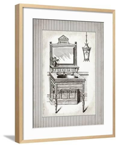 Victorian Sink Stripes I-Gwendolyn Babbitt-Framed Art Print
