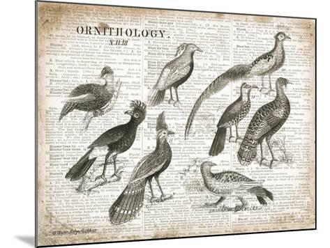 Birds I-Gwendolyn Babbitt-Mounted Art Print