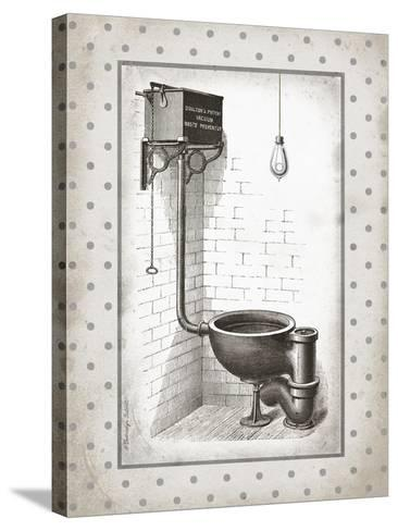 Water Closet I-Gwendolyn Babbitt-Stretched Canvas Print