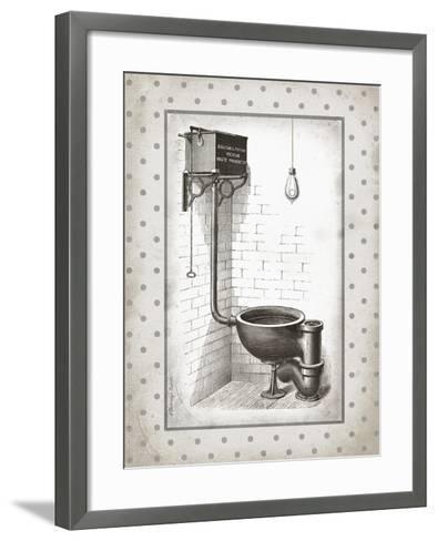 Water Closet I-Gwendolyn Babbitt-Framed Art Print