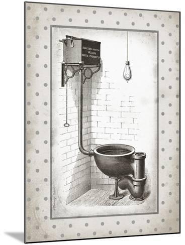 Water Closet I-Gwendolyn Babbitt-Mounted Art Print
