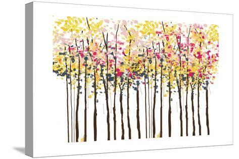 Autumn Woods-Sara Berrenson-Stretched Canvas Print