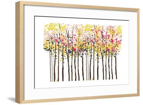 Autumn Woods-Sara Berrenson-Framed Art Print