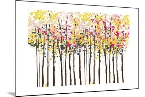 Autumn Woods-Sara Berrenson-Mounted Art Print