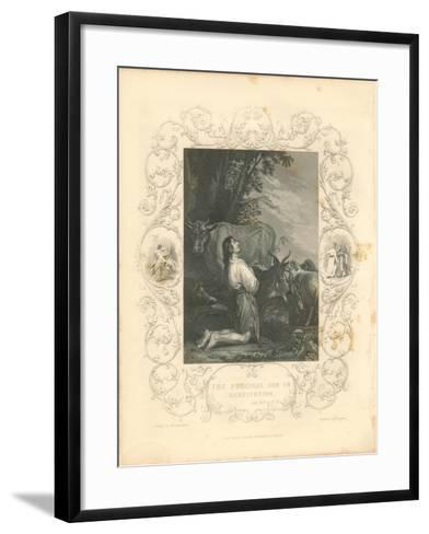 Faith Engraving III-Gwendolyn Babbitt-Framed Art Print