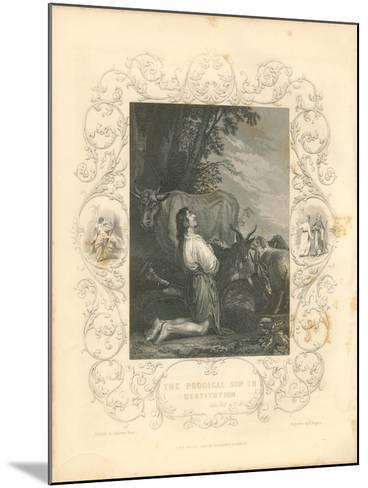Faith Engraving III-Gwendolyn Babbitt-Mounted Art Print