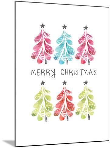 Christmas Trees-Sara Berrenson-Mounted Art Print