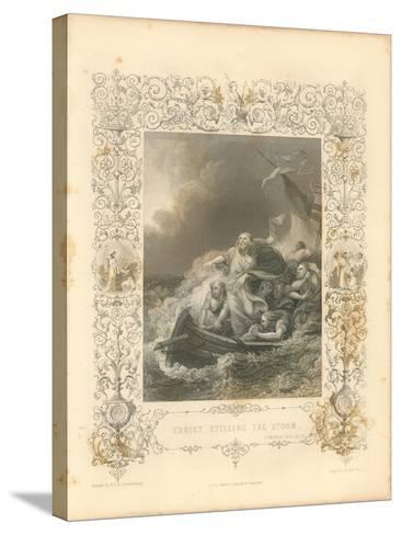 Faith Engraving II-Gwendolyn Babbitt-Stretched Canvas Print