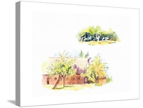 Ridgefield Barn II-Gwendolyn Babbitt-Stretched Canvas Print