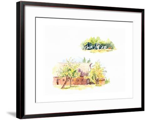 Ridgefield Barn II-Gwendolyn Babbitt-Framed Art Print