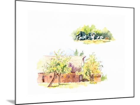 Ridgefield Barn II-Gwendolyn Babbitt-Mounted Art Print