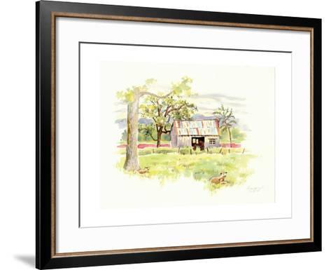 Doug's Shed-Gwendolyn Babbitt-Framed Art Print