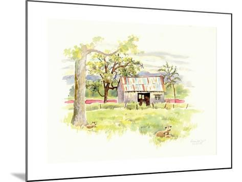 Doug's Shed-Gwendolyn Babbitt-Mounted Art Print