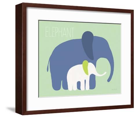 Blue Zoo III-Kris Ruff-Framed Art Print