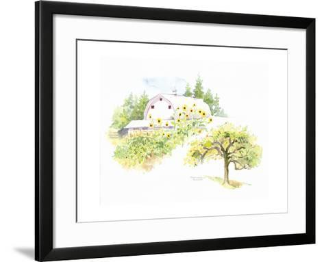 Ridgefield Barn III-Gwendolyn Babbitt-Framed Art Print