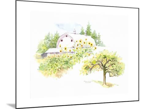 Ridgefield Barn III-Gwendolyn Babbitt-Mounted Art Print