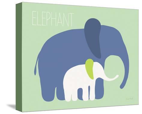 Blue Zoo III-Kris Ruff-Stretched Canvas Print