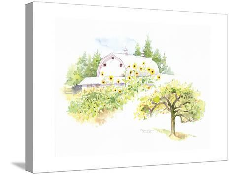 Ridgefield Barn III-Gwendolyn Babbitt-Stretched Canvas Print
