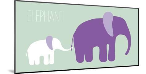 Purple Zoo VI-Kris Ruff-Mounted Art Print