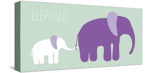 Purple Zoo VI-Kris Ruff-Stretched Canvas Print