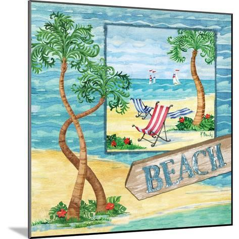 Whimsy Bay Collage II-Paul Brent-Mounted Art Print