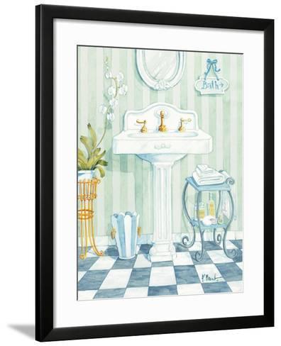Pedestal Sink-Paul Brent-Framed Art Print