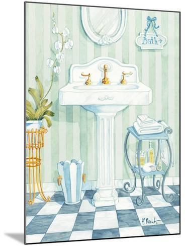 Pedestal Sink-Paul Brent-Mounted Art Print