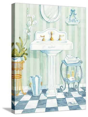 Pedestal Sink-Paul Brent-Stretched Canvas Print