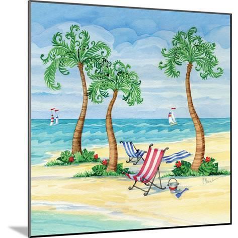 Whimsy Bay Chairs II-Paul Brent-Mounted Art Print