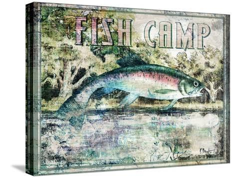 Fish Camp-Paul Brent-Stretched Canvas Print