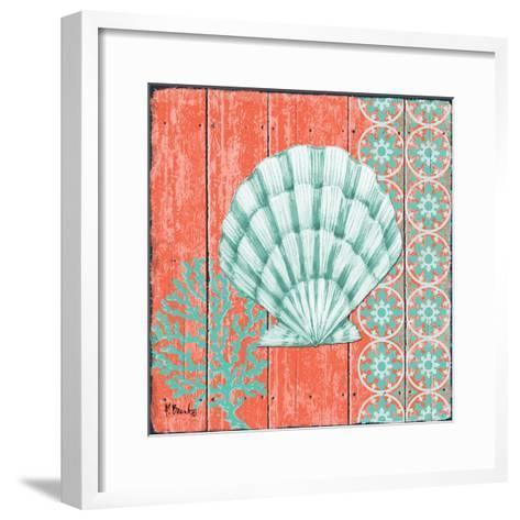 Coral Sea II-Paul Brent-Framed Art Print