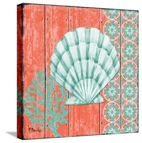 Coral Sea II-Paul Brent-Stretched Canvas Print