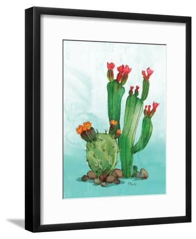 Cactus II-Paul Brent-Framed Art Print