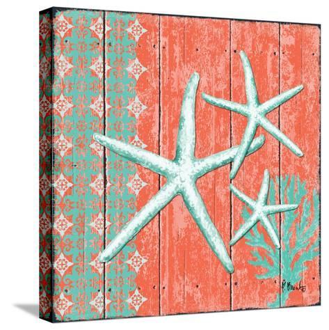Coral Sea III-Paul Brent-Stretched Canvas Print